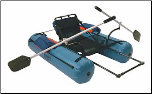 Row Frame and Oars Set (SKU: 1SC RF SET)